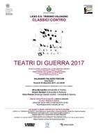 CLASSICI CONTRO. TEATRI DI GUERRA 2017