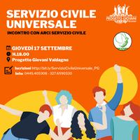 Incontro con ARCI Servizio Civile Universale