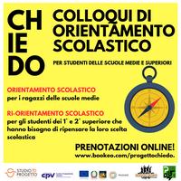 C.H.I.E.D.O. il progetto di Orientamento per gli studenti secondari