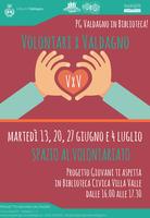 #VxV: PGValdagno porta il volontariato in Biblioteca