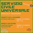 SERVIZIO CIVILE UNIVERSALE - speciale Valdagno